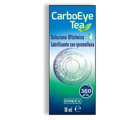 Carboeye tea soluzione oftalmica lubrificante con ipromellosa 10 ml