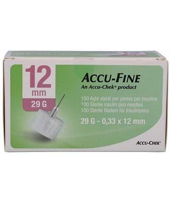 Ago per penna da insulina accu-fine pen needle accu-chek gauge 29 x 12,7mm 100 pezzi