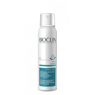 Bioclin deo control spray dry talc