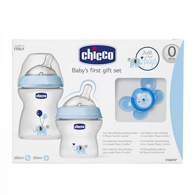 Chicco set natural feeling jfboy