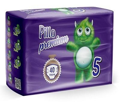 Pannolino pillo premium dryway junior 40 pezzi