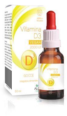 Vitamina d3 vegan 2000 ui 50 ml