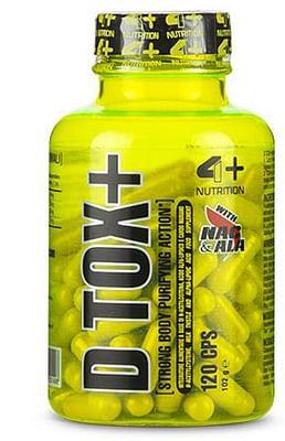 4+ nutrition d tox+ 120 capsule