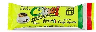 4+ nutrition ciao protein bar caffe' 50 g
