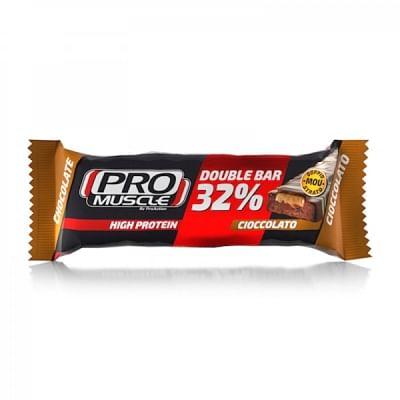 Proaction double bar 32% cioccolato caramello 60 g