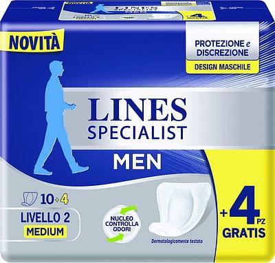 Lines specialist men livello 2 14 pezzi