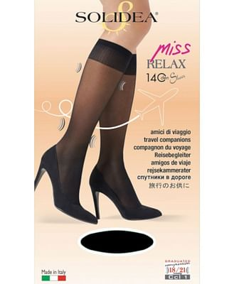 Gambaletto miss relax 140 sheer glace 3-l 1 paio