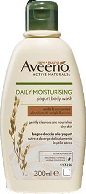 Aveeno bagno doccia yogurt vaniglia & avena 300 ml promo