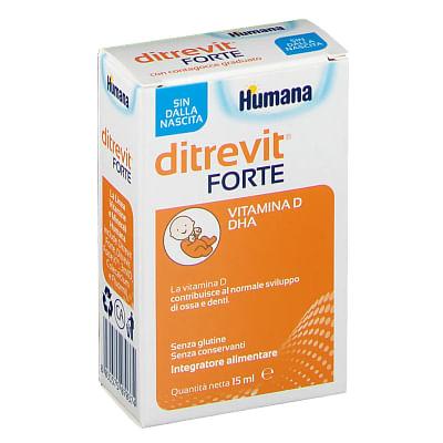 Ditrevit forte 15 ml nuova formulazione